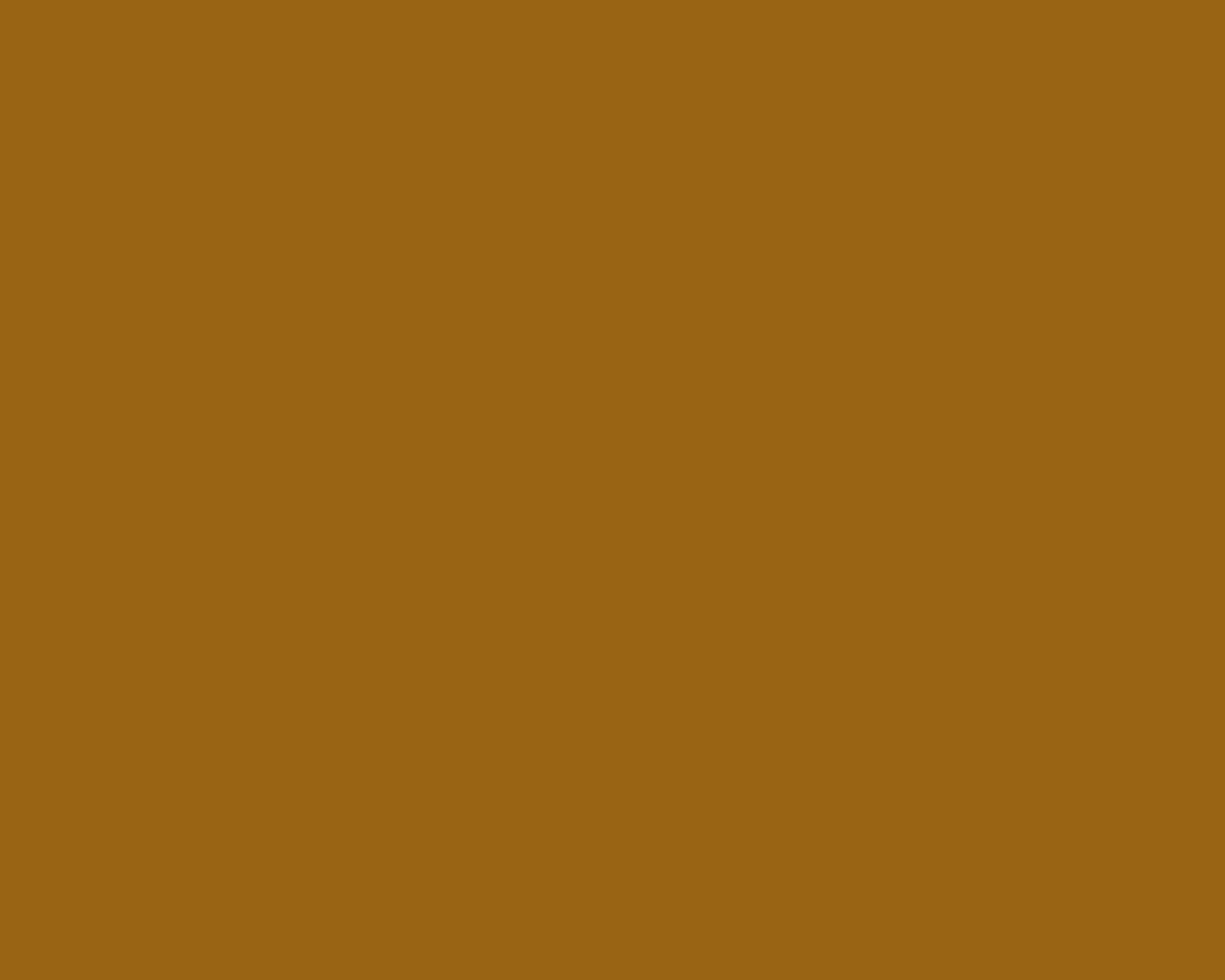 1280x1024 Golden Brown Solid Color Background