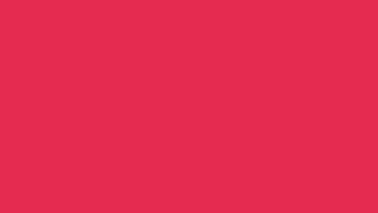 1280x720 Amaranth Solid Color Background