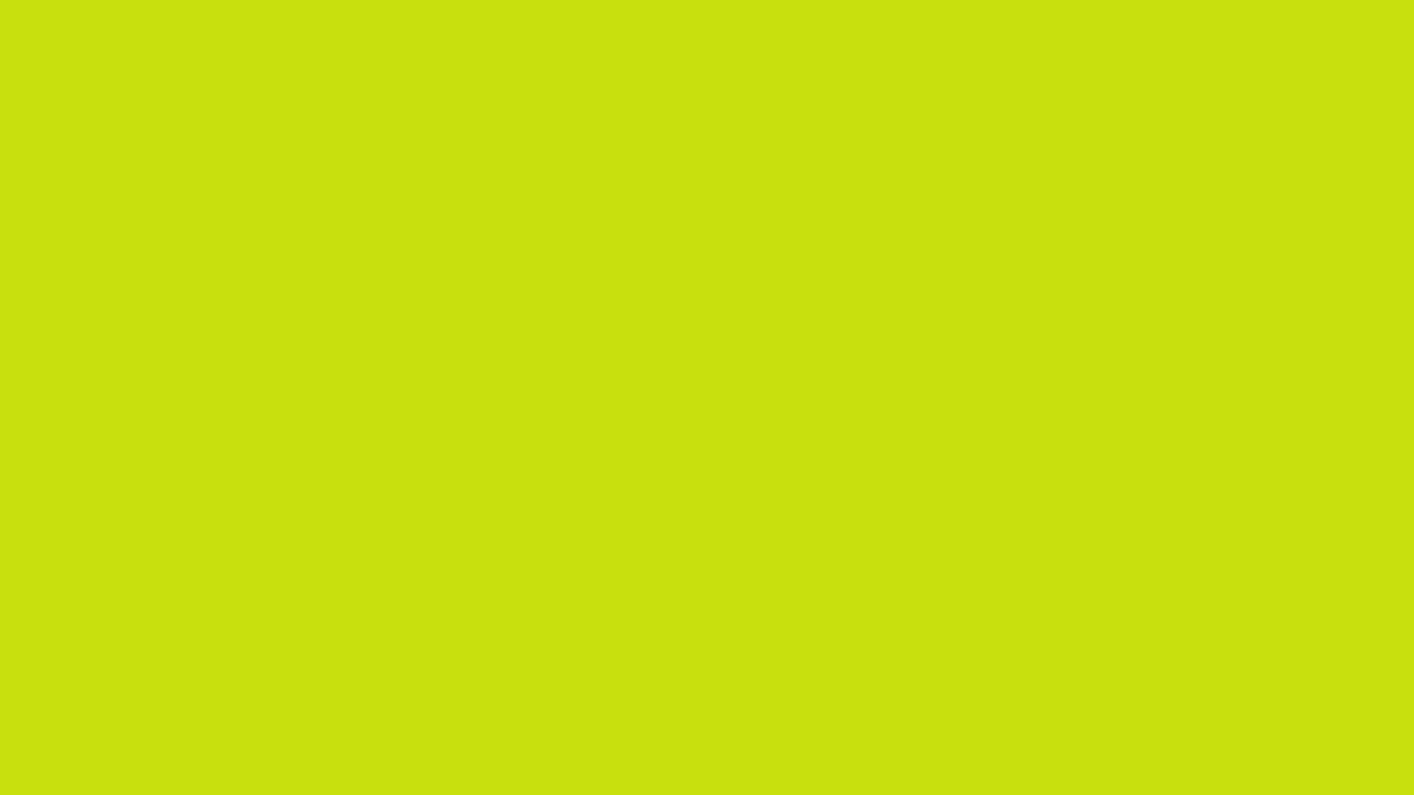 1280x720 Bitter Lemon Solid Color Background