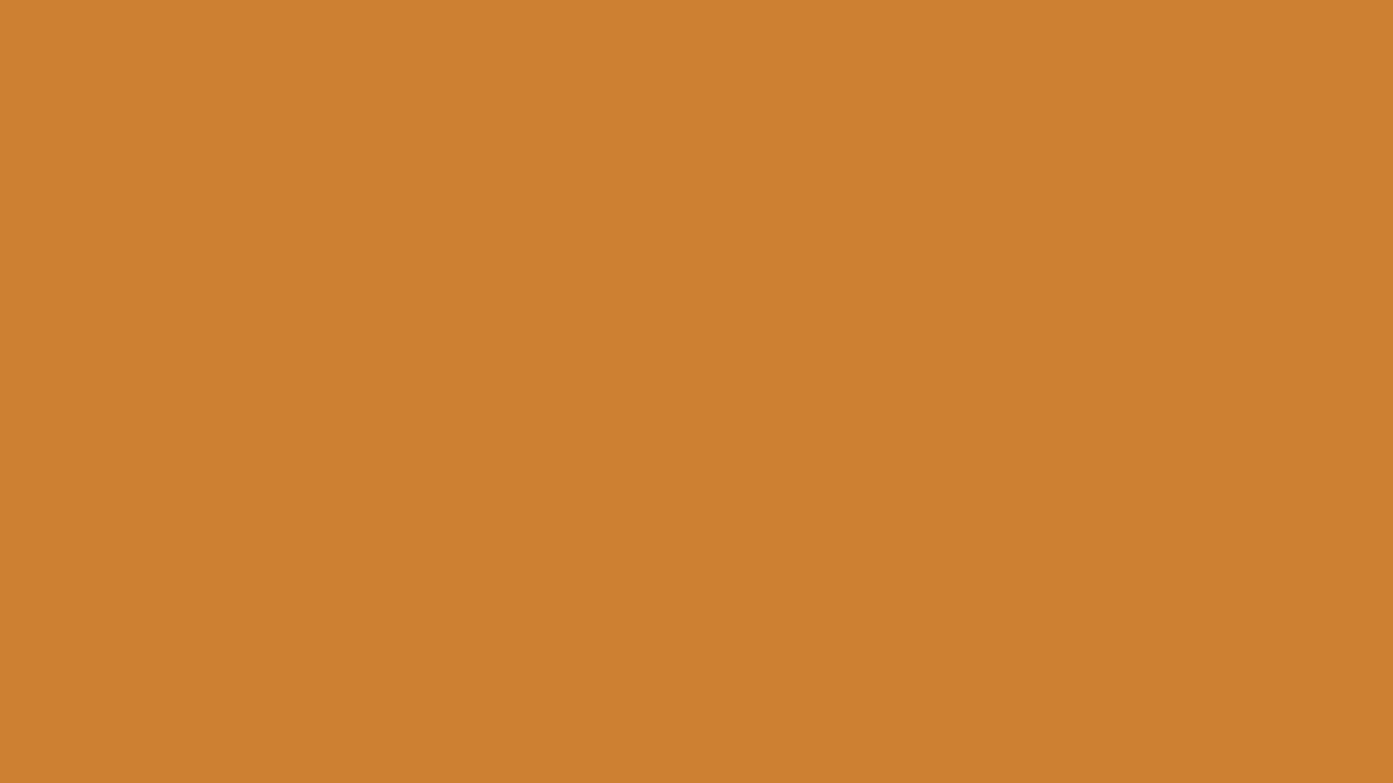 1280x720 Bronze Solid Color Background