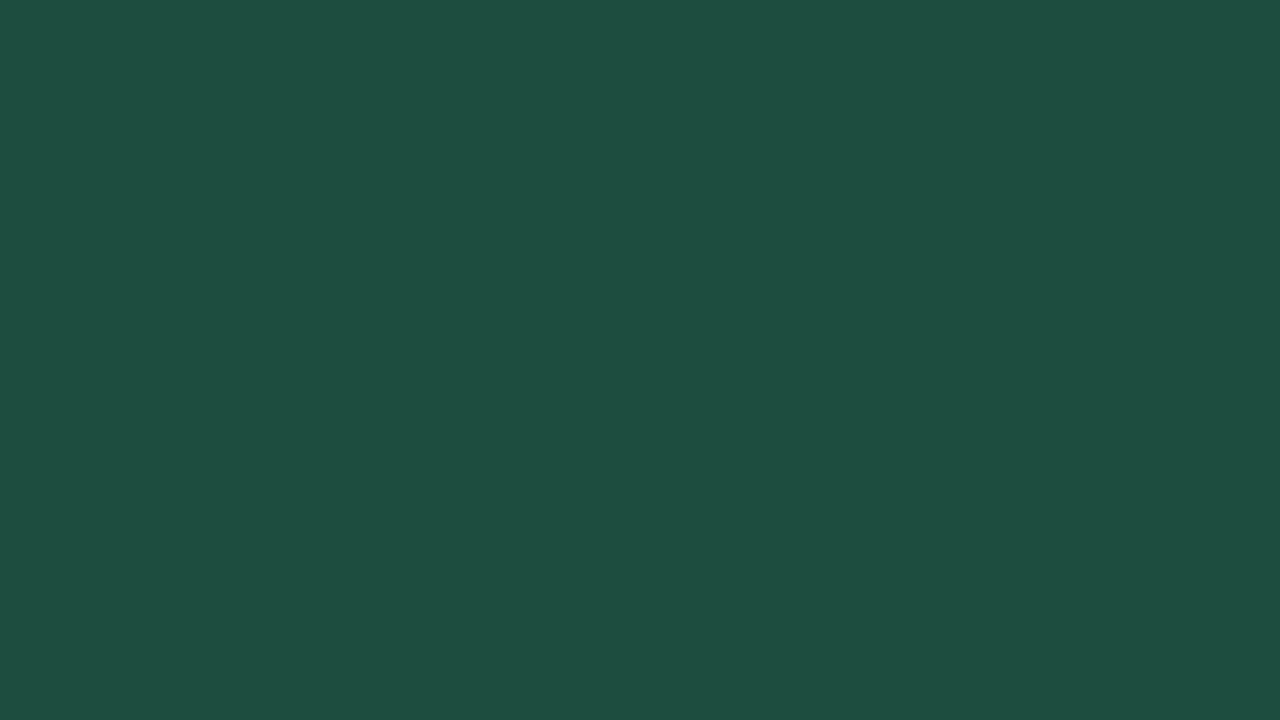 1280x720 Brunswick Green Solid Color Background