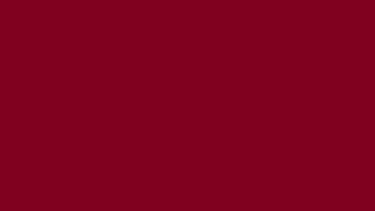 1280x720 Burgundy Solid Color Background