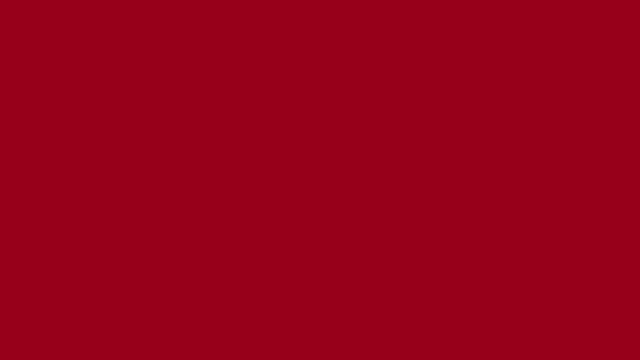 1280x720 Carmine Solid Color Background