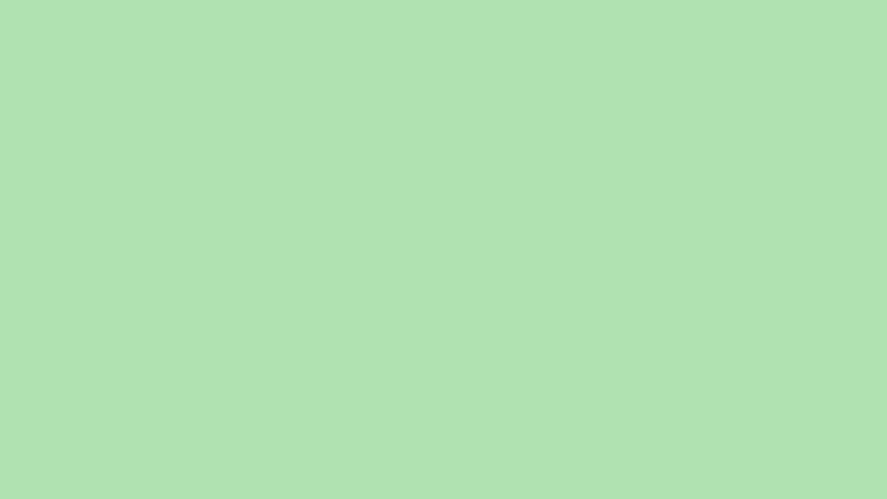1280x720 Celadon Solid Color Background