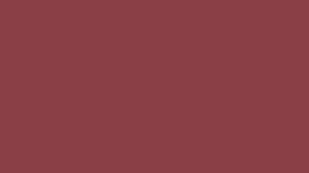 1280x720 Cordovan Solid Color Background