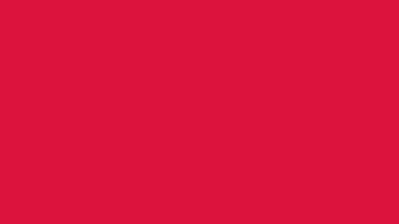 1280x720 Crimson Solid Color Background