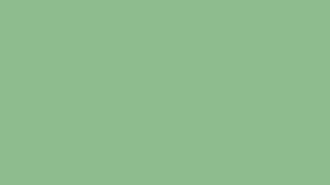 1280x720 Dark Sea Green Solid Color Background