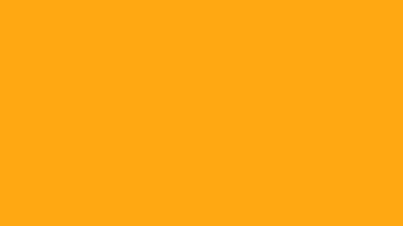 1280x720 Dark Tangerine Solid Color Background