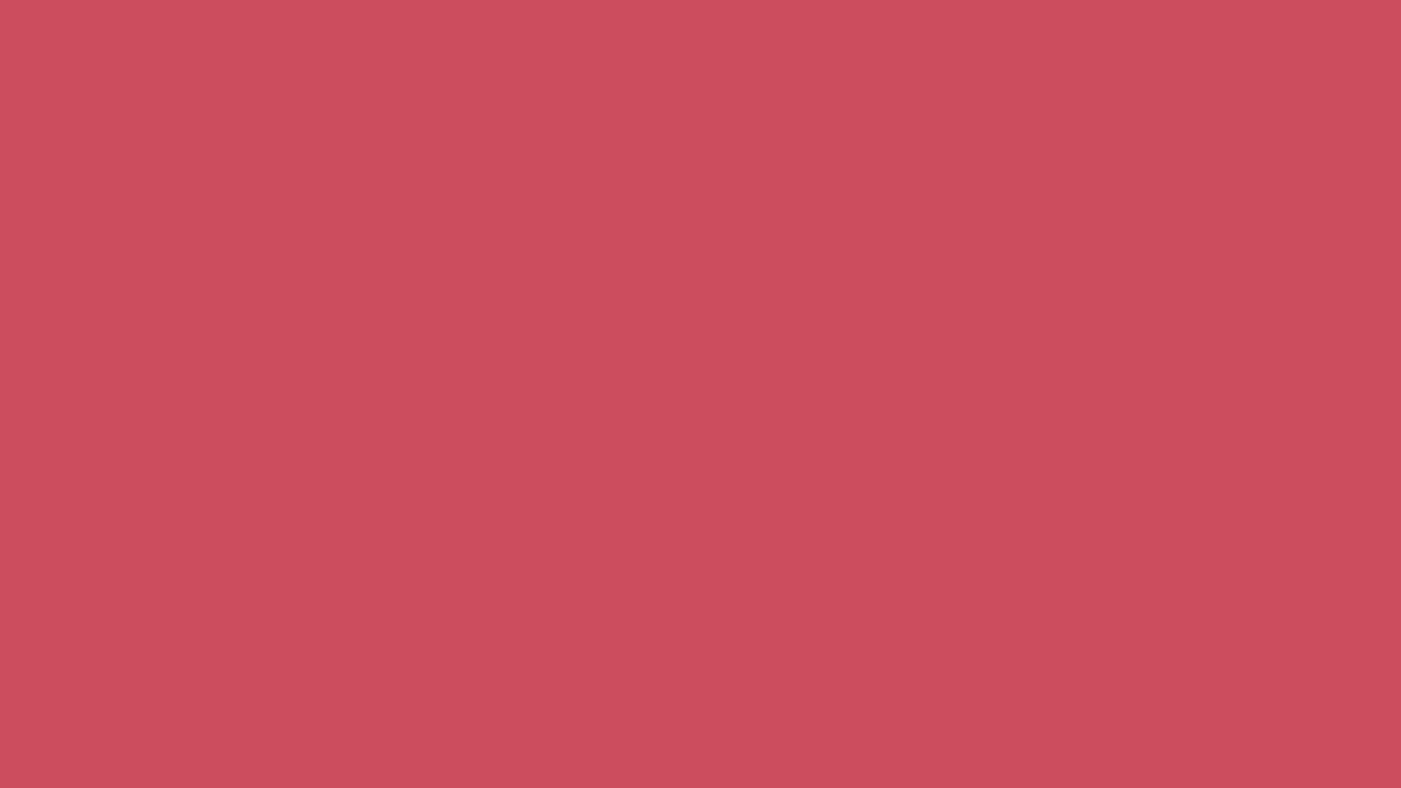 1280x720 Dark Terra Cotta Solid Color Background