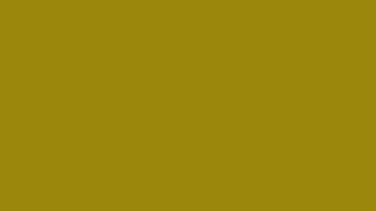1280x720 Dark Yellow Solid Color Background