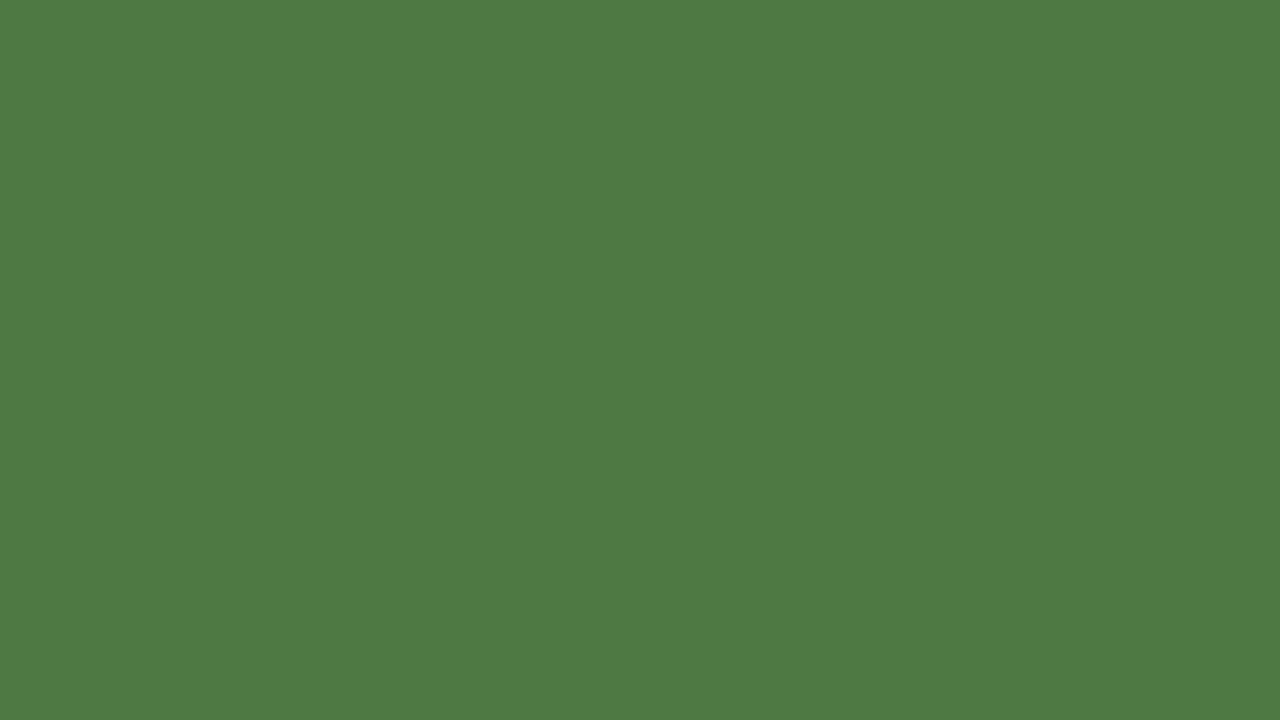 1280x720 Fern Green Solid Color Background