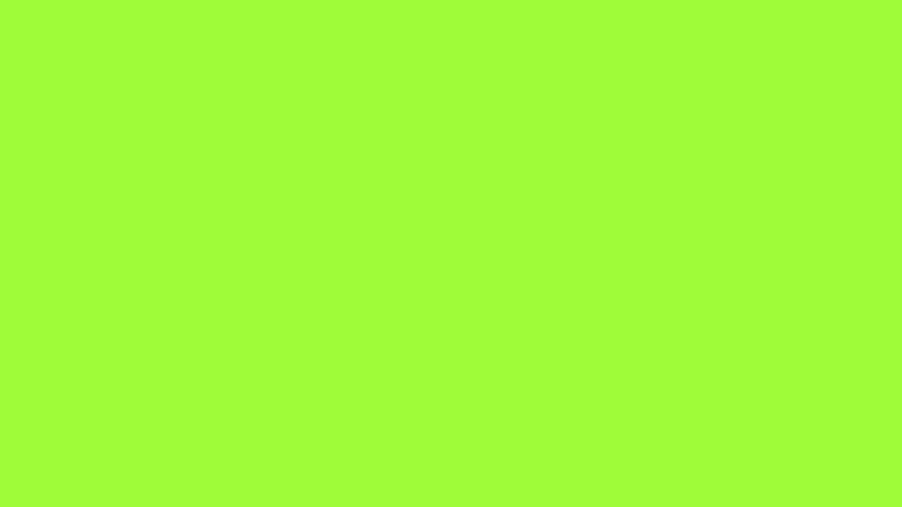 1280x720 French Lime Solid Color Background