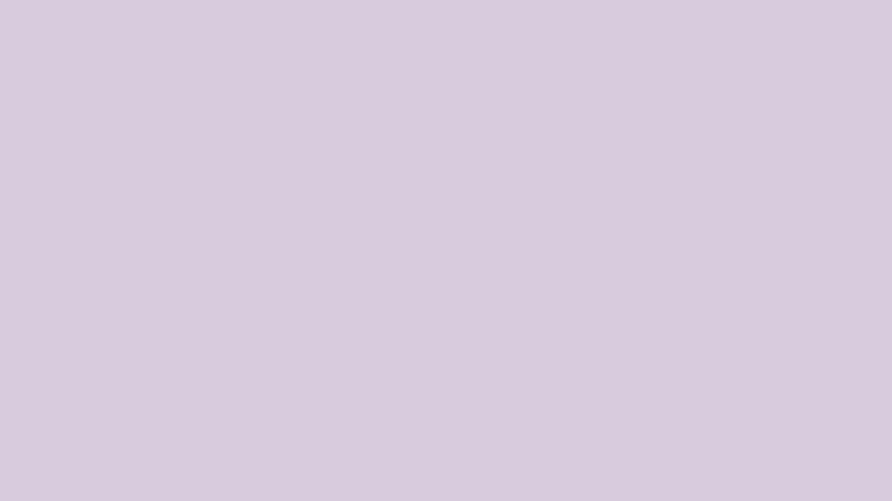1280x720 Languid Lavender Solid Color Background