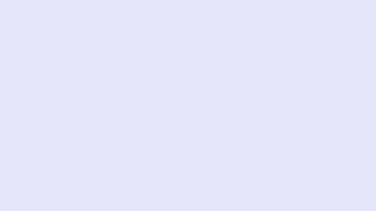 1280x720 Lavender Mist Solid Color Background