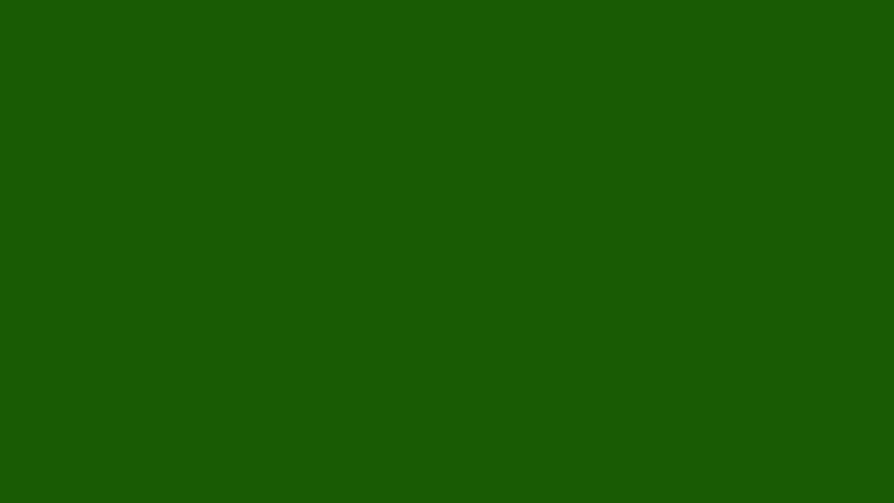 1280x720 Lincoln Green Solid Color Background