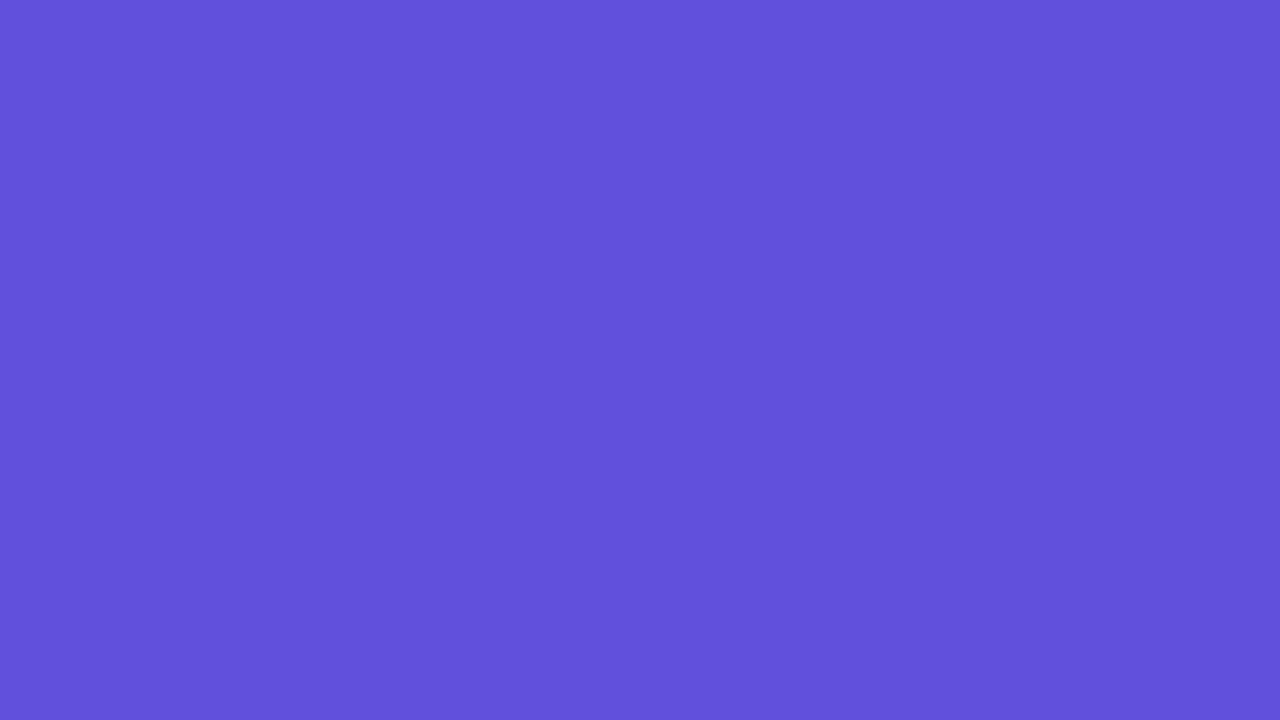 1280x720 Majorelle Blue Solid Color Background