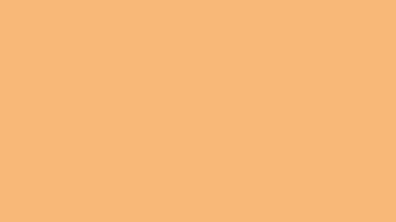 1280x720 Mellow Apricot Solid Color Background