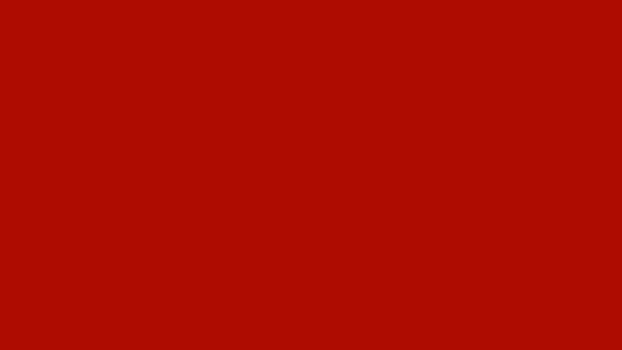 1280x720 Mordant Red 19 Solid Color Background