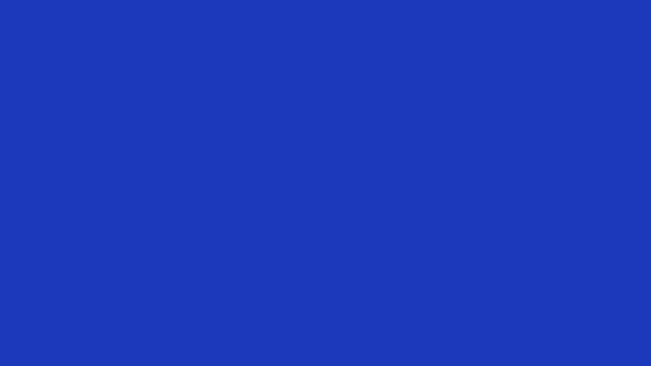 1280x720 Persian Blue Solid Color Background