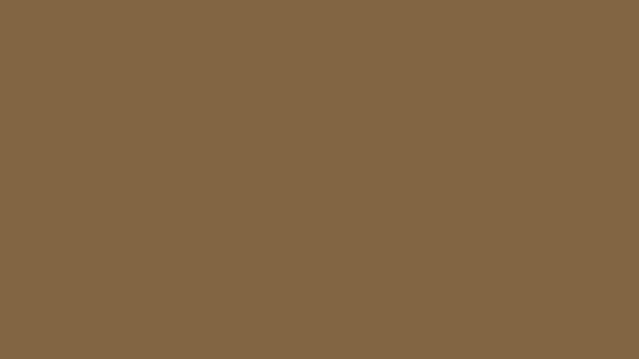 1280x720 Raw Umber Solid Color Background