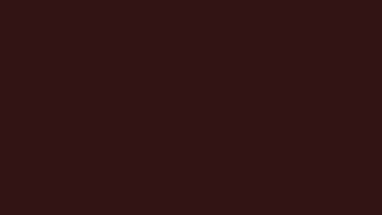 1280x720 Seal Brown Solid Color Background