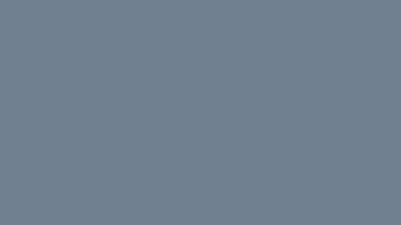 1280x720 Slate Gray Solid Color Background