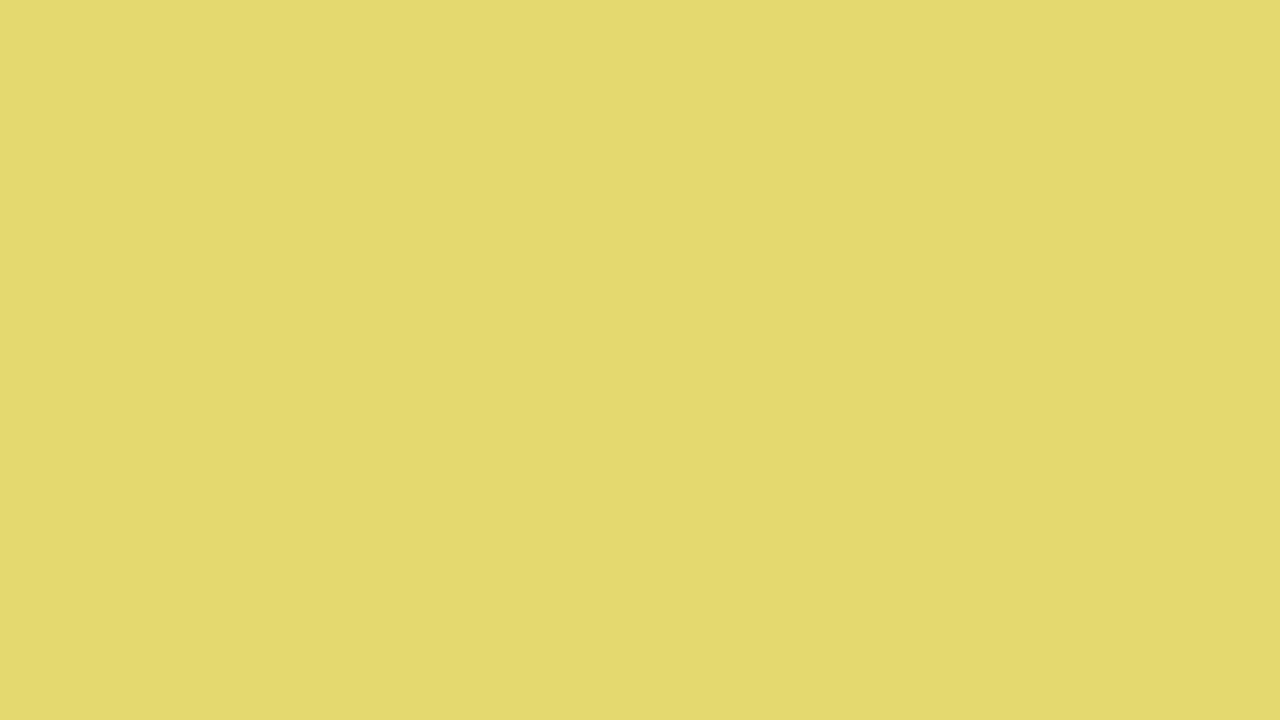 1280x720 Straw Solid Color Background