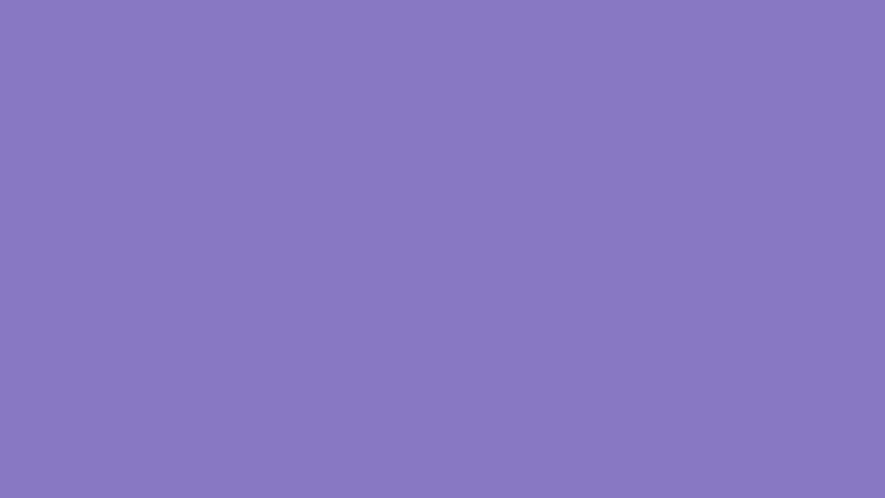 1280x720 Ube Solid Color Background