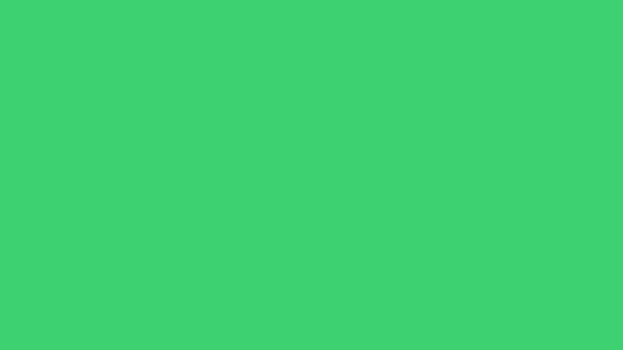 1280x720 UFO Green Solid Color Background