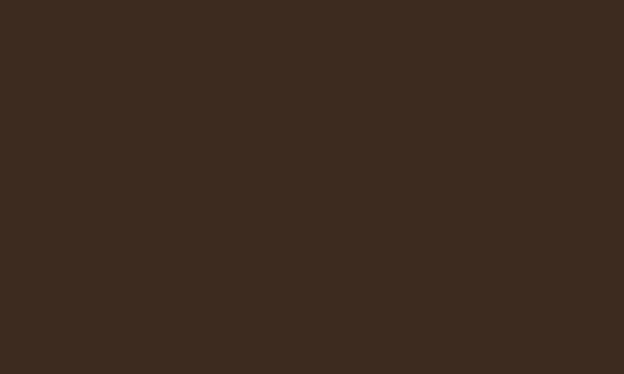 1280x768 Bistre Solid Color Background