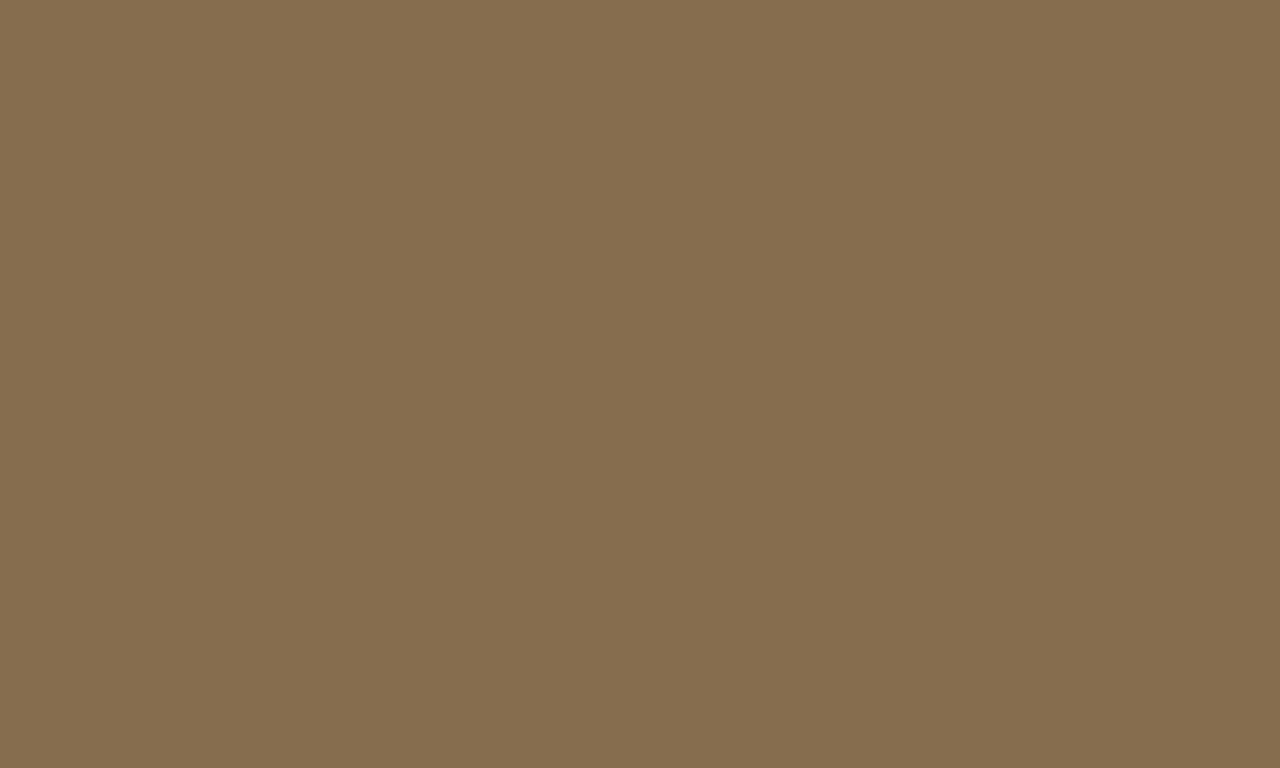 1280x768 French Bistre Solid Color Background
