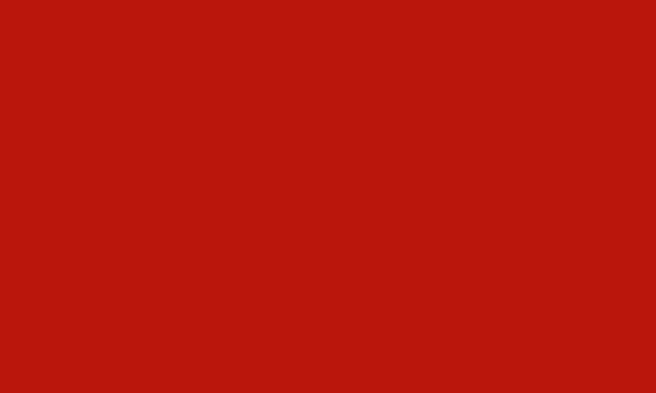 1280x768 International Orange Engineering Solid Color Background