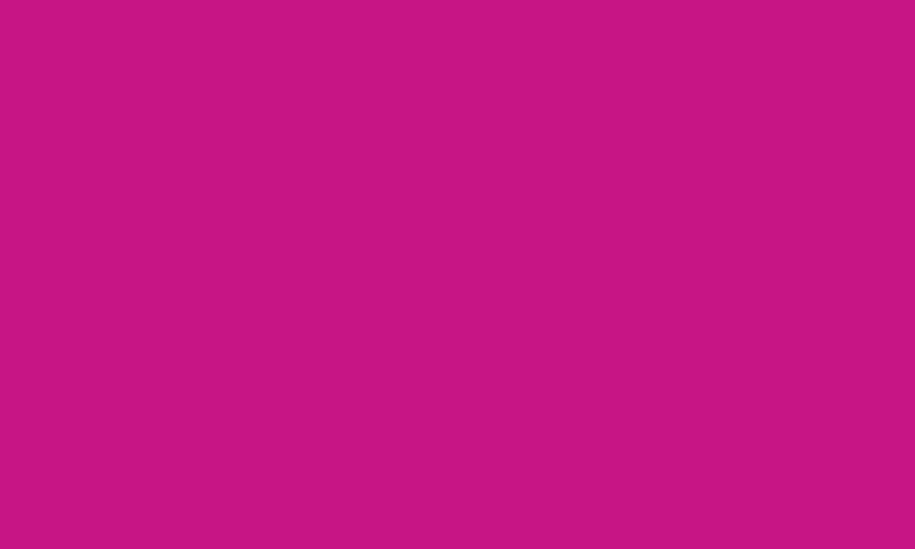 1280x768 Medium Violet-red Solid Color Background