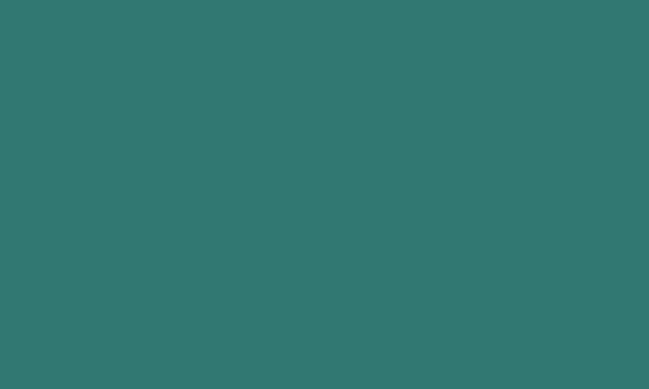 1280x768 Myrtle Green Solid Color Background