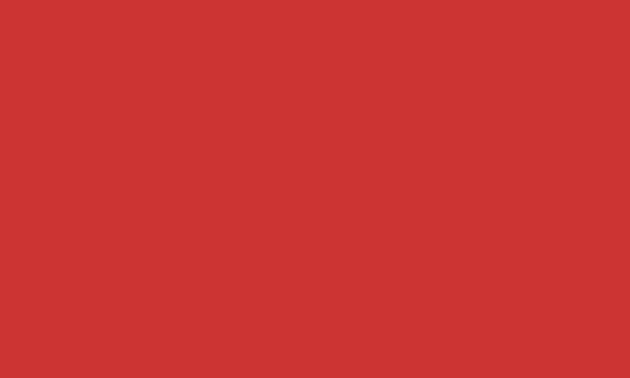 1280x768 Persian Red Solid Color Background