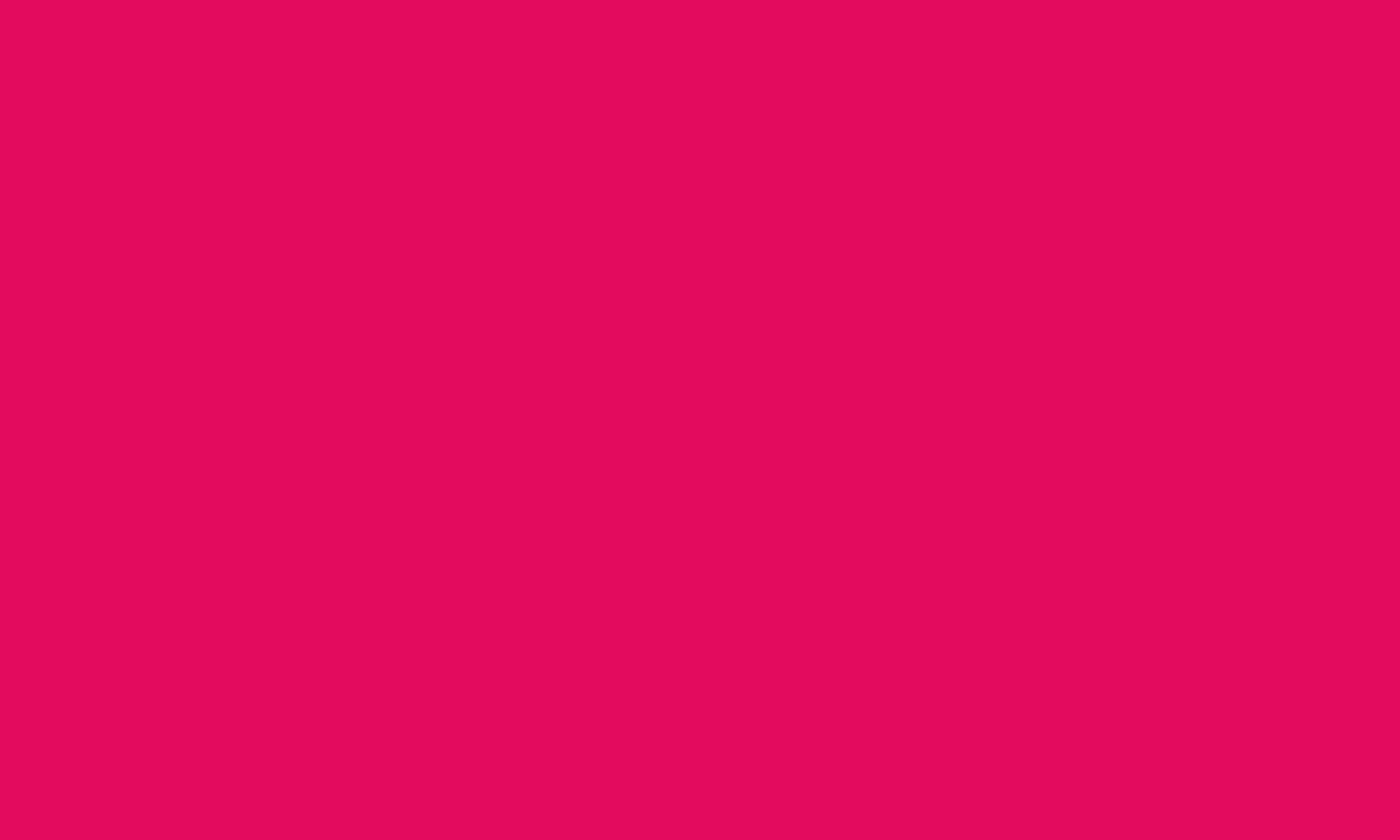 1280x768 Raspberry Solid Color Background
