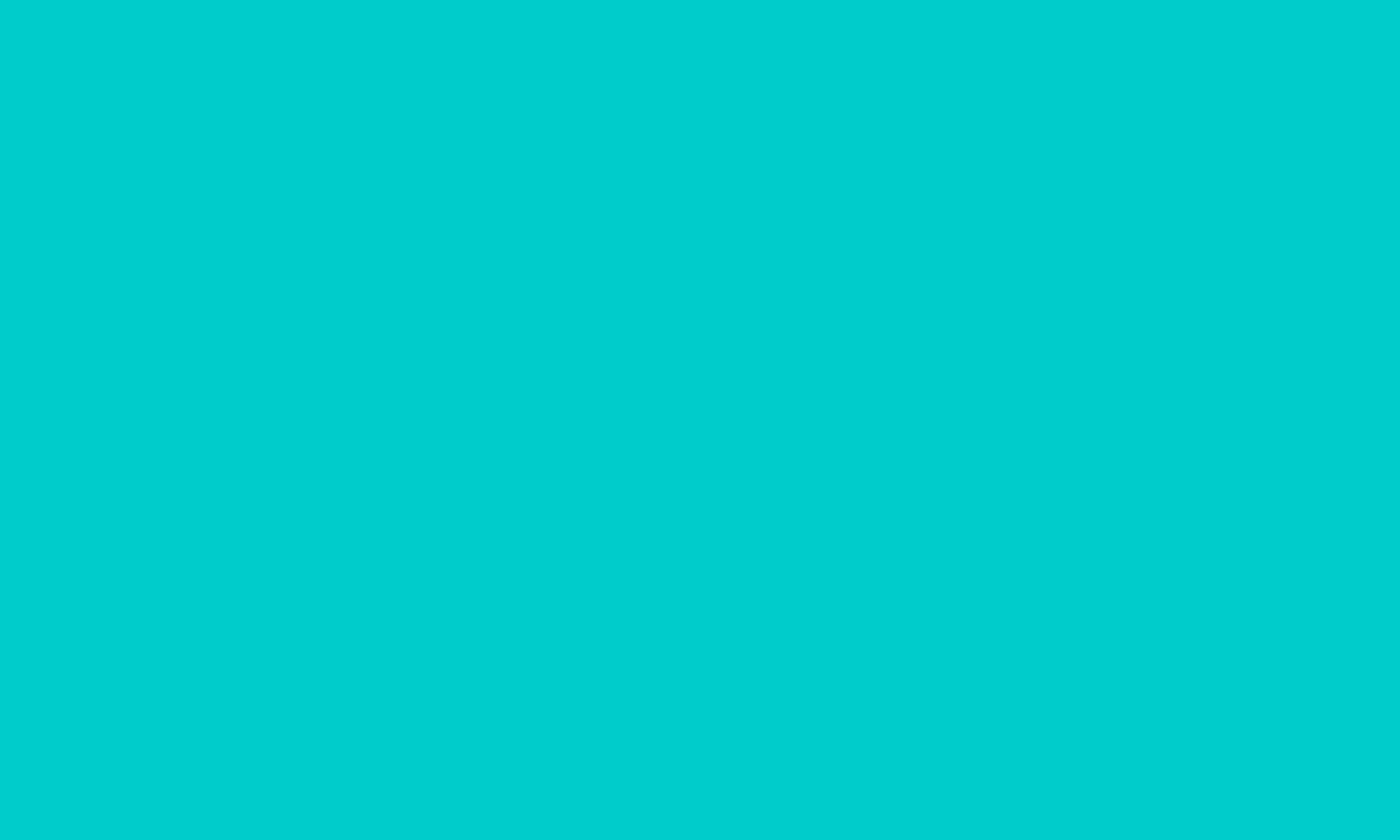 1280x768 Robin Egg Blue Solid Color Background