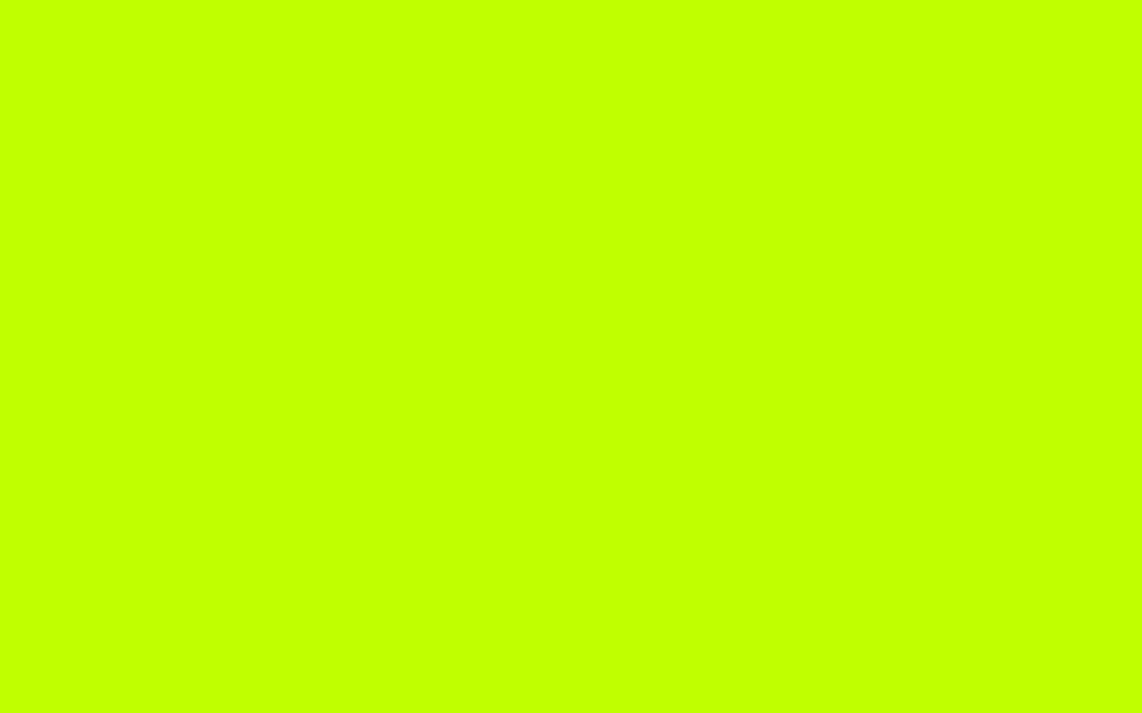 1280x800 Bitter Lime Solid Color Background