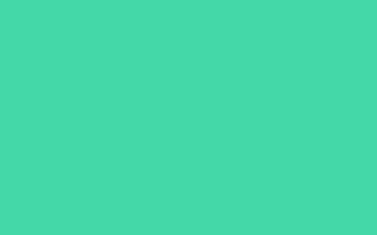 1280x800 Eucalyptus Solid Color Background