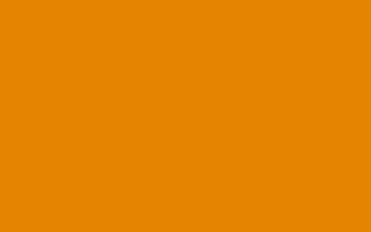 1280x800 Fulvous Solid Color Background