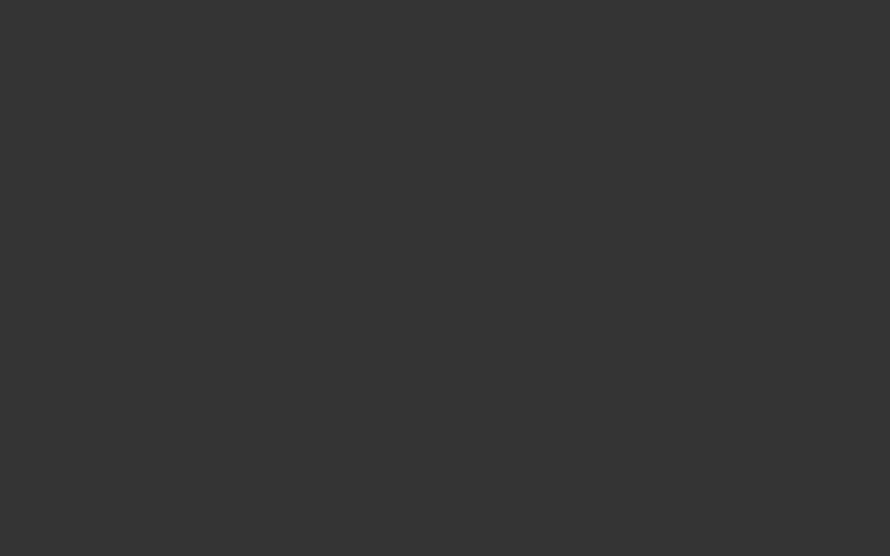 1280x800 Jet Solid Color Background