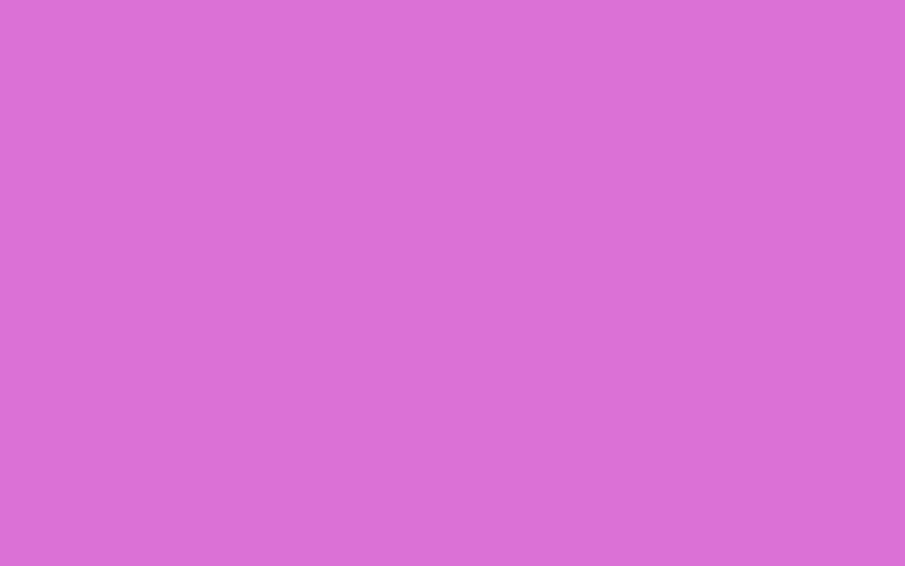 1280x800 Orchid Solid Color Background