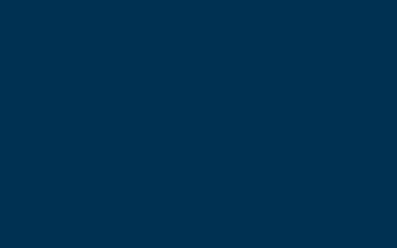 1280x800 Prussian Blue Solid Color Background