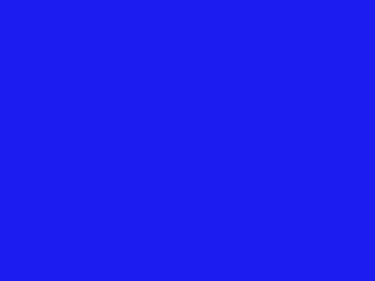 1280x960 Bluebonnet Solid Color Background