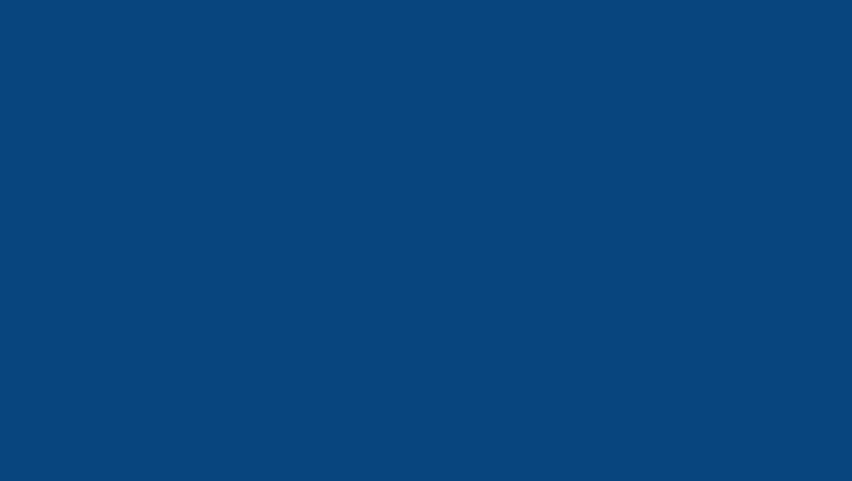 1360x768 Dark Cerulean Solid Color Background