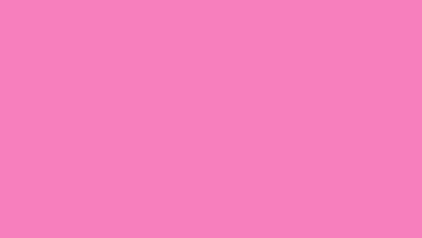 1360x768 Persian Pink Solid Color Background