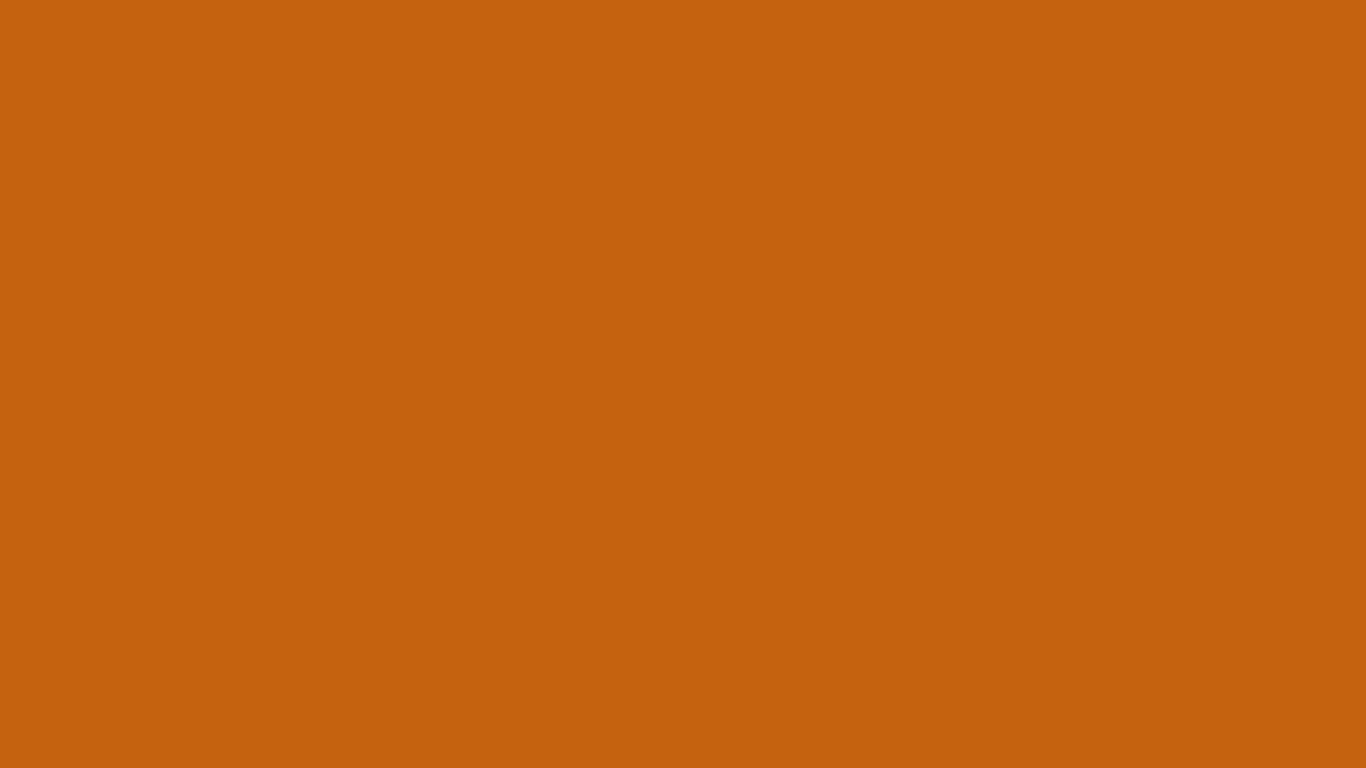1366x768 Alloy Orange Solid Color Background