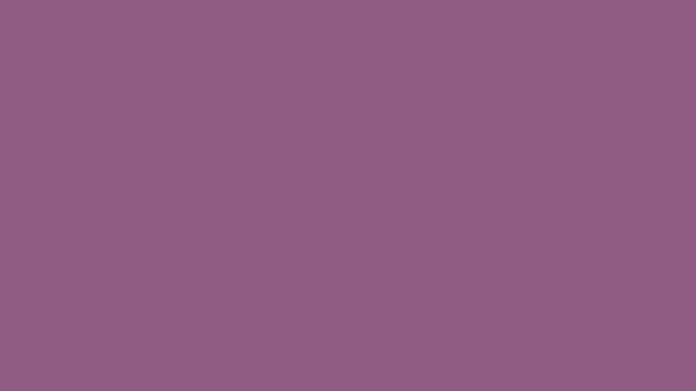1366x768 Antique Fuchsia Solid Color Background