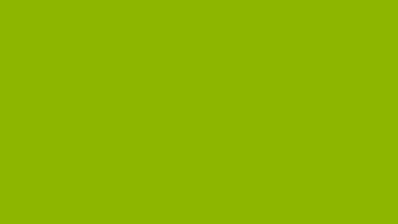 1366x768 Apple Green Solid Color Background
