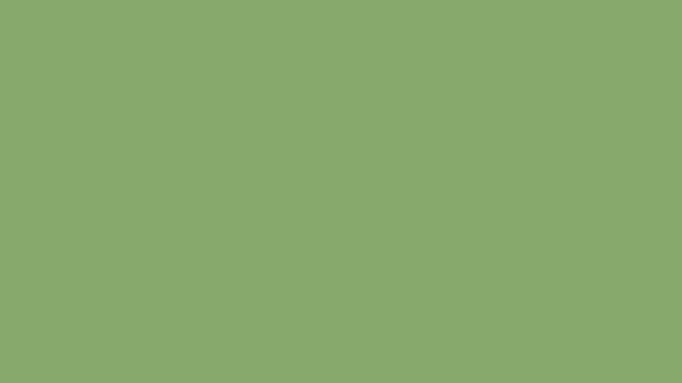 1366x768 Asparagus Solid Color Background